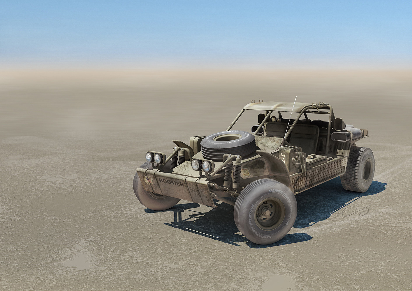 Boomer Sandrail Light Strike Vehicle (L.S.V.)