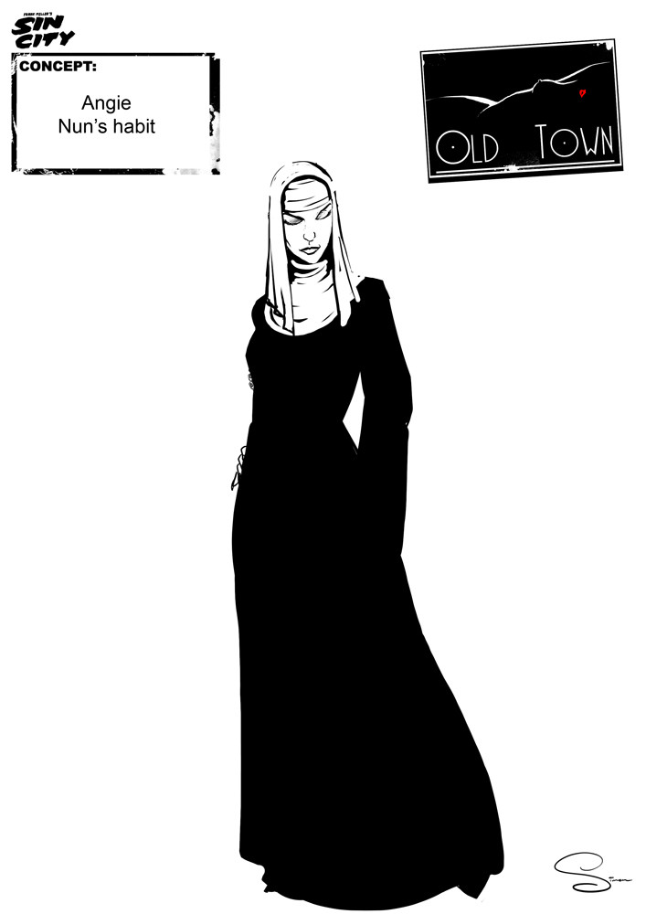 Simon lissaman sin city character concept old town angie02