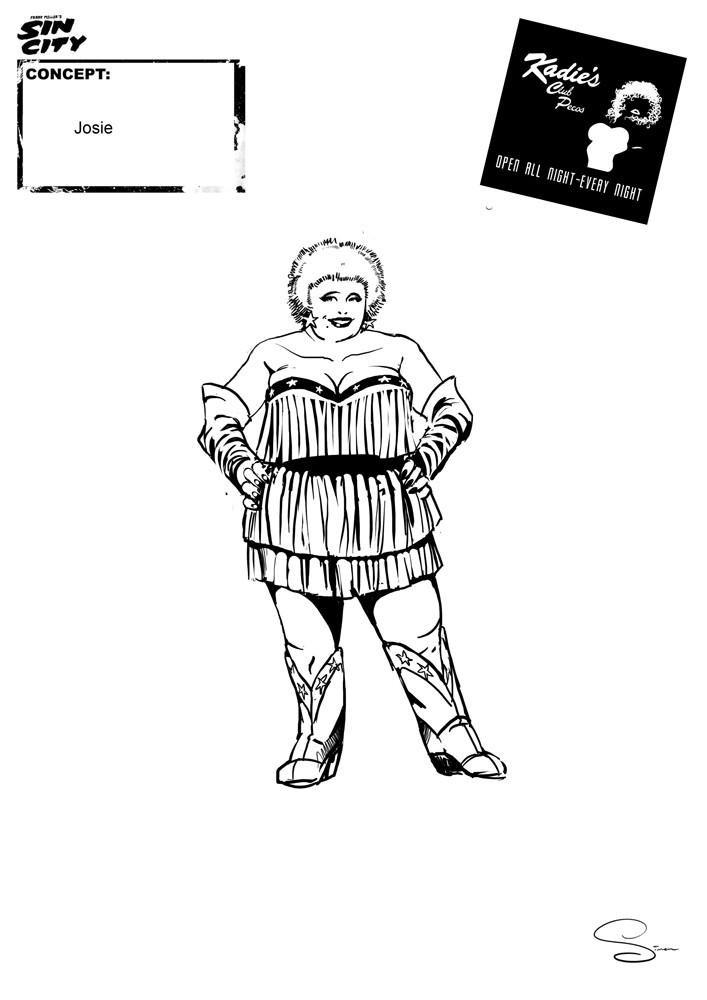 Simon lissaman sin city character concept kadie s josie