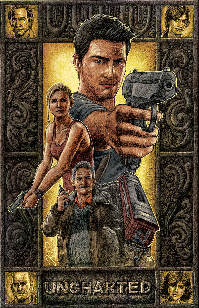 Uncharted Poster Design