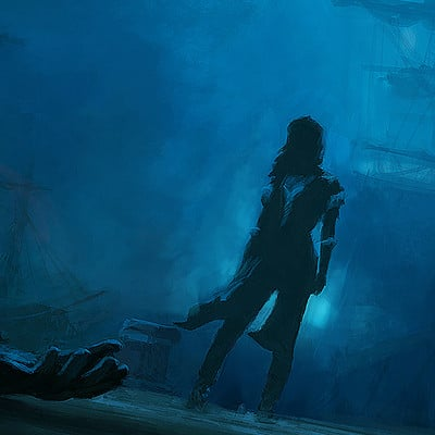 Gilles beloeil assassin s creed project legacy artwork x fair game