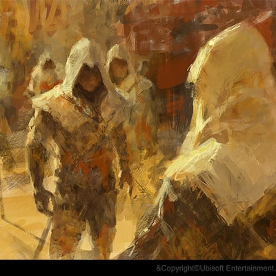 Gilles beloeil assassin s creed project legacy artwork stacked deck