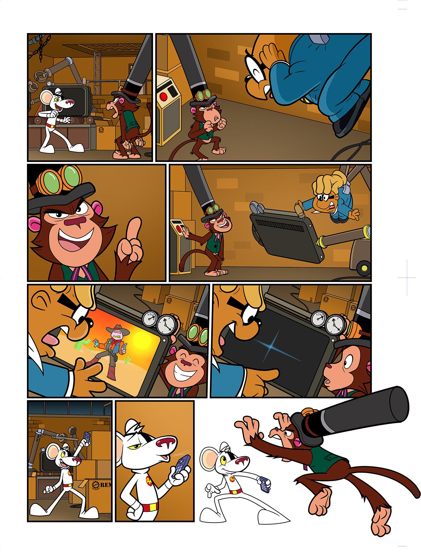 Joe amp rob sharp dm comic issue 10 page 06