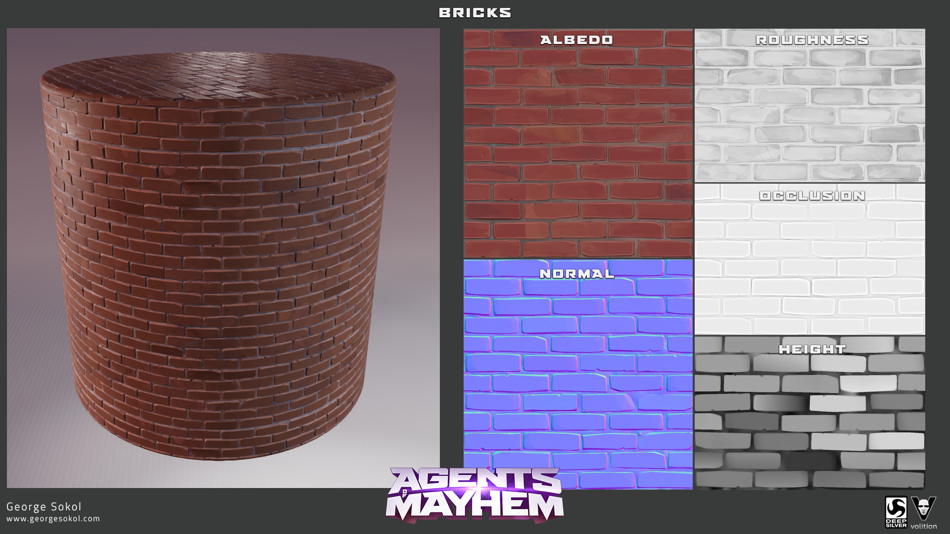 George sokol aom materials bricks