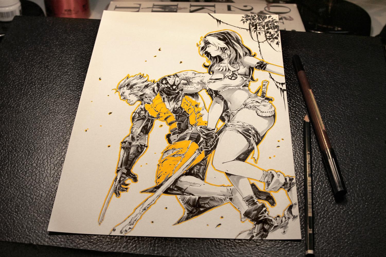 Savage Land Rogue & Wolverine