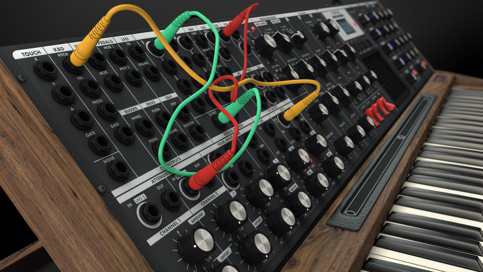ArtStation - Minimoog Voyager XL, Miguel Lopes