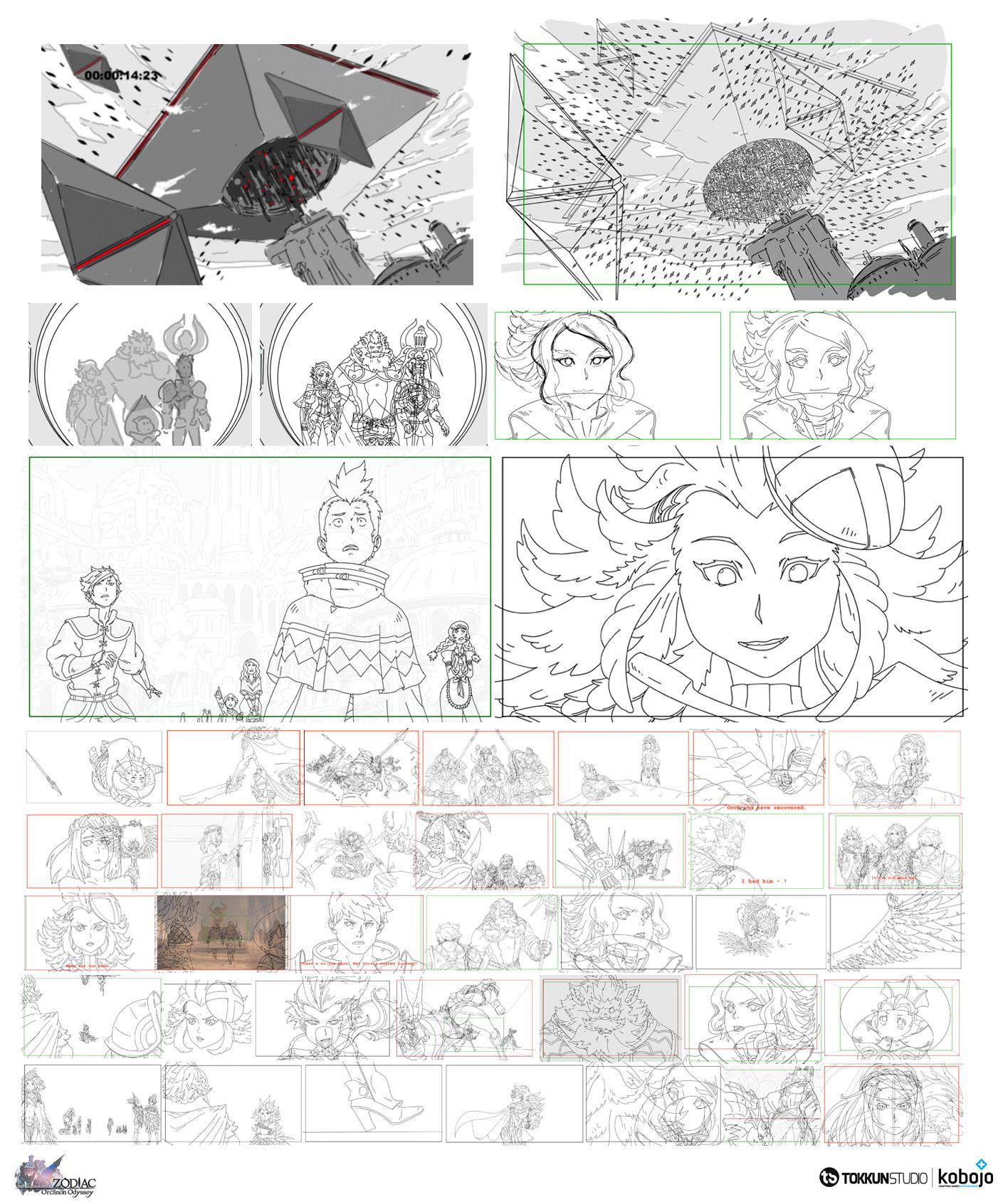 ArtStation - Zodiac : Orcanon Odissey, Lucyd Yeah!