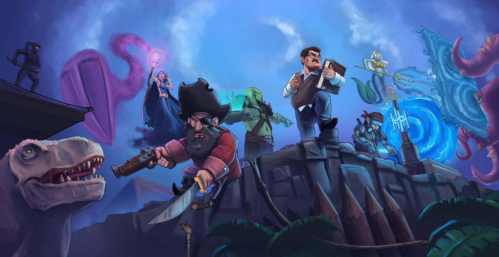 Ilustração e Capa do Game