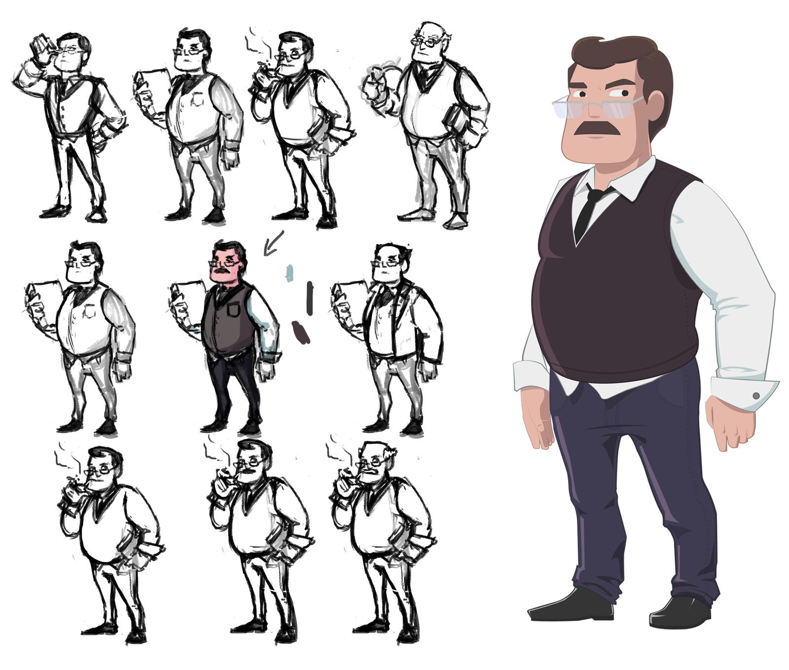 O Professor - Lider do Esquadrão