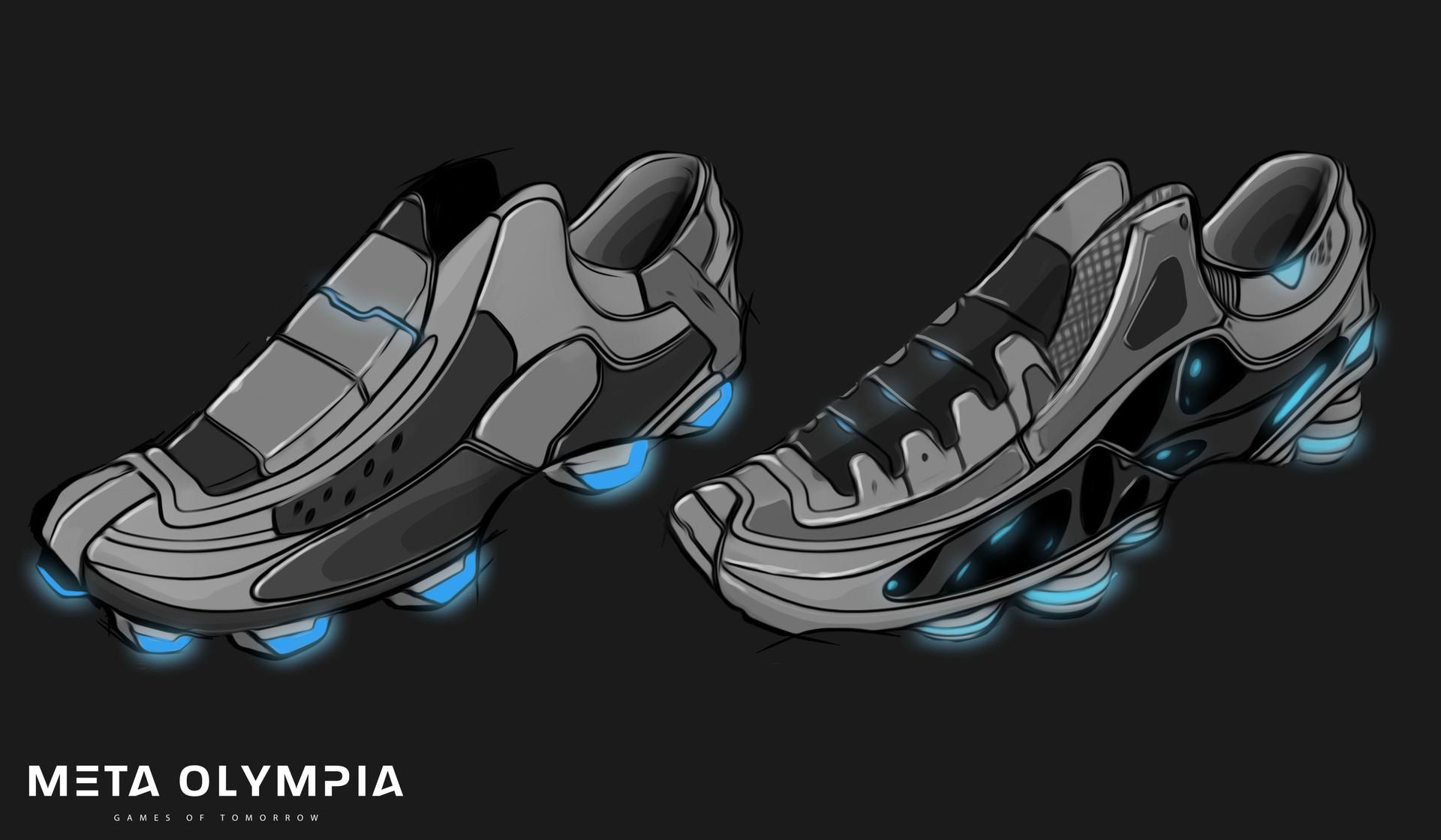 Meta olympia shoe 1
