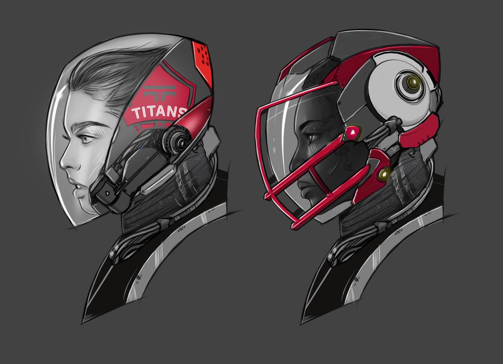 Meta olympia helmet 2