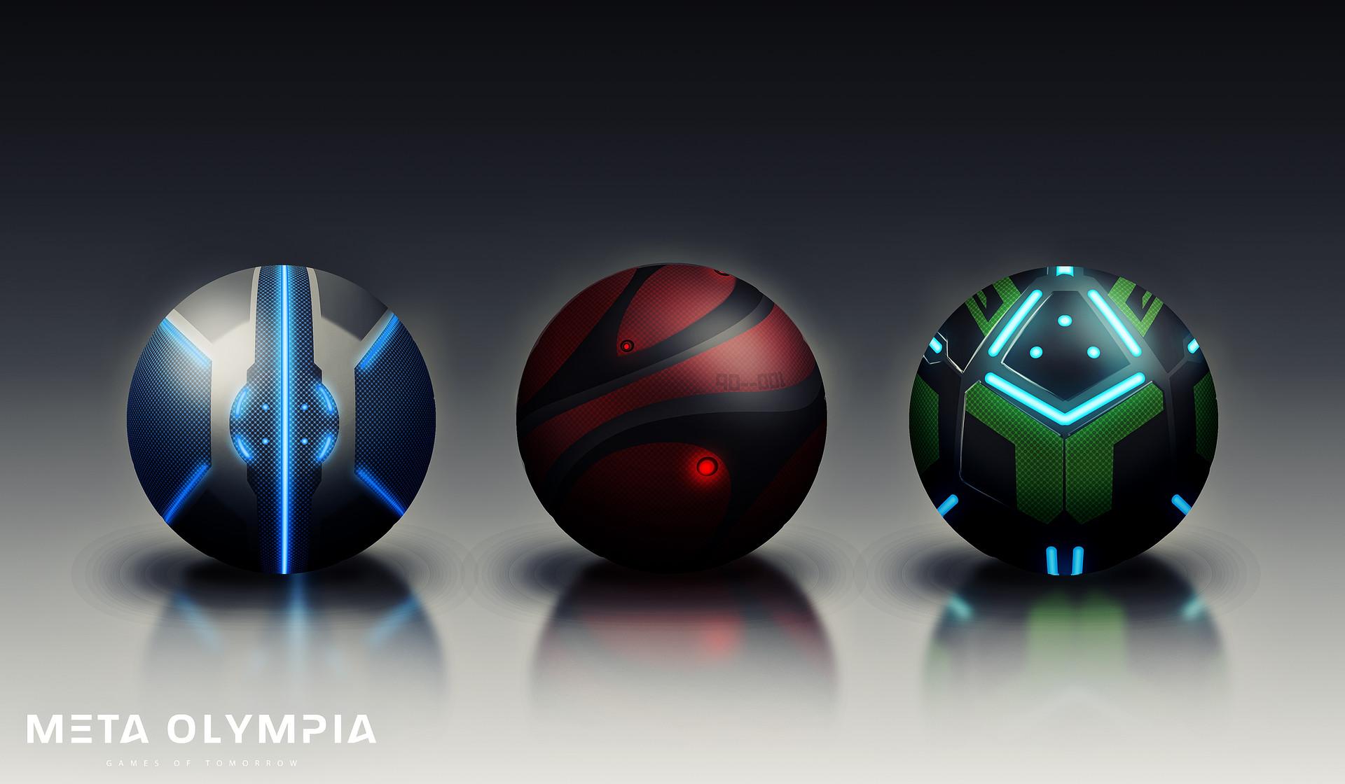Meta olympia balls