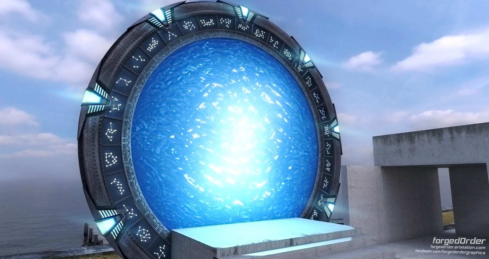 Pegasus Stargate from Stargate Atlantis