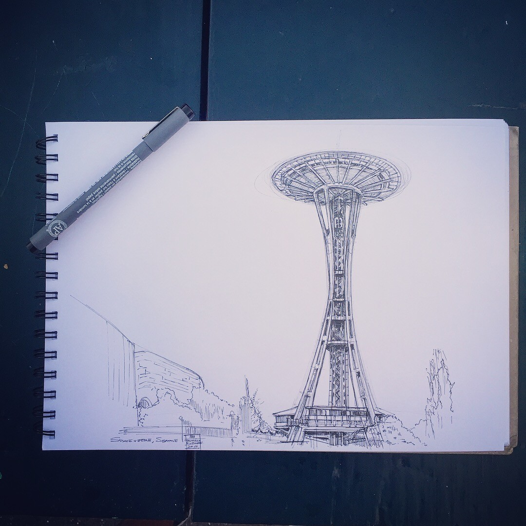 Space Needle, Seattle.