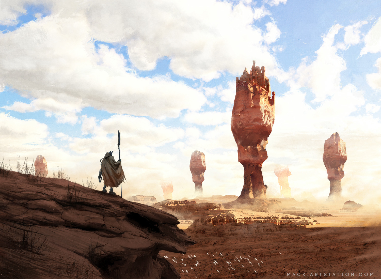 Mack sztaba desert castle