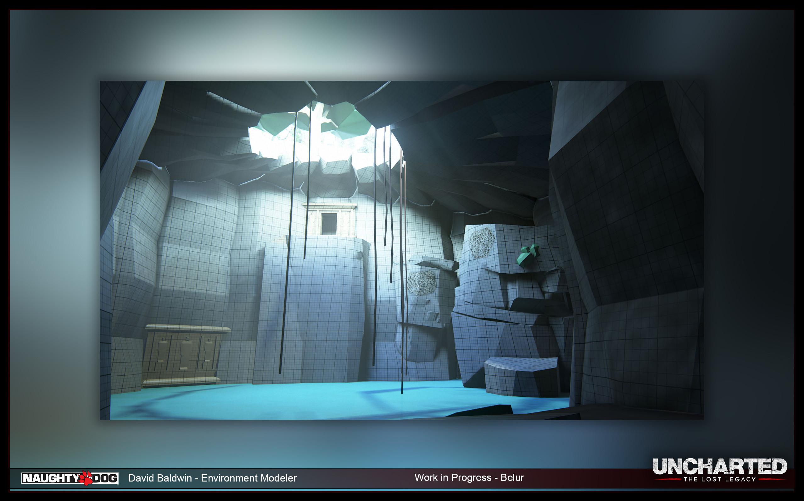 Belur - Blockmesh - Natural Cave Room