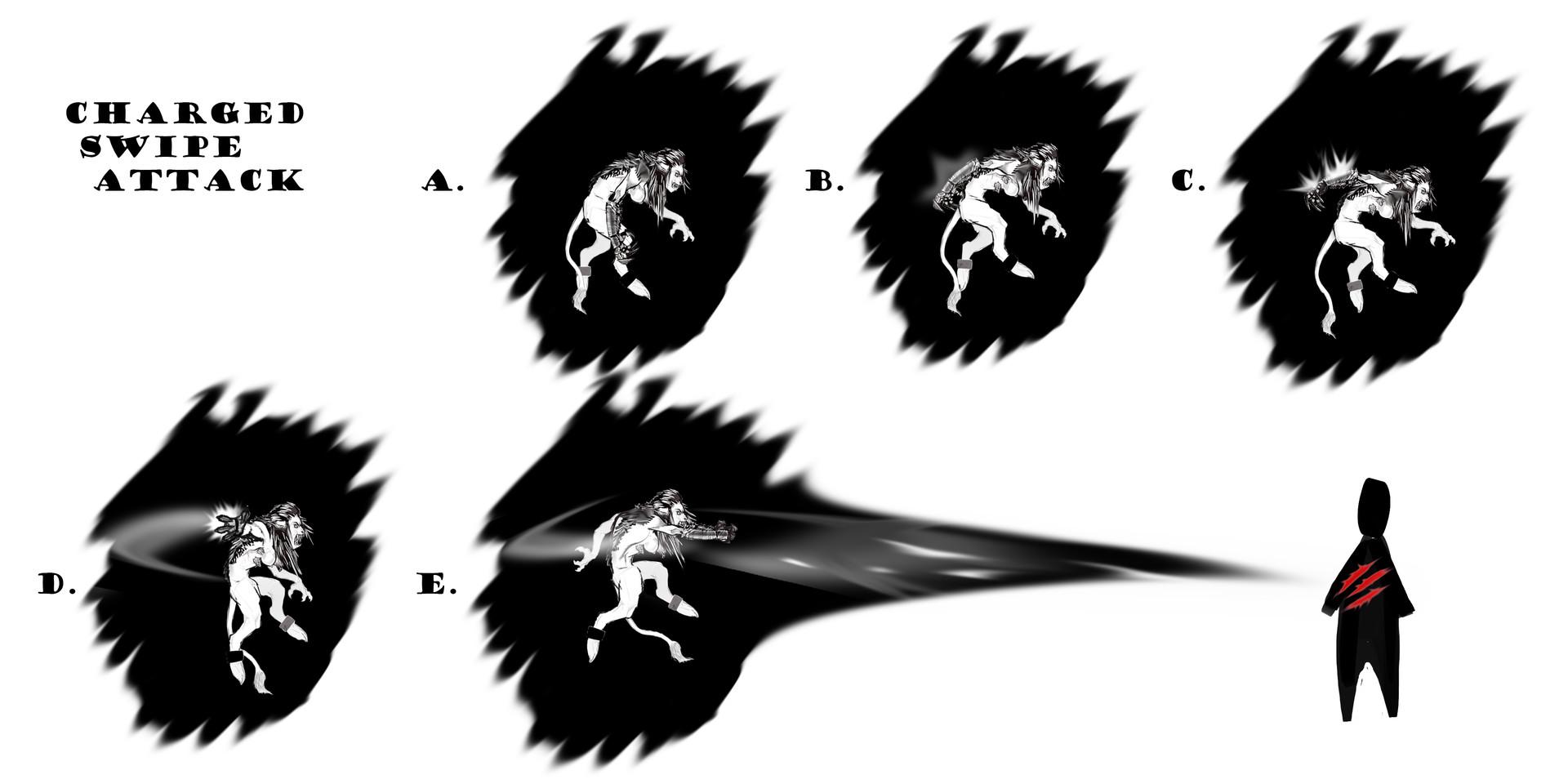 Swipe Attack Animation Sprites