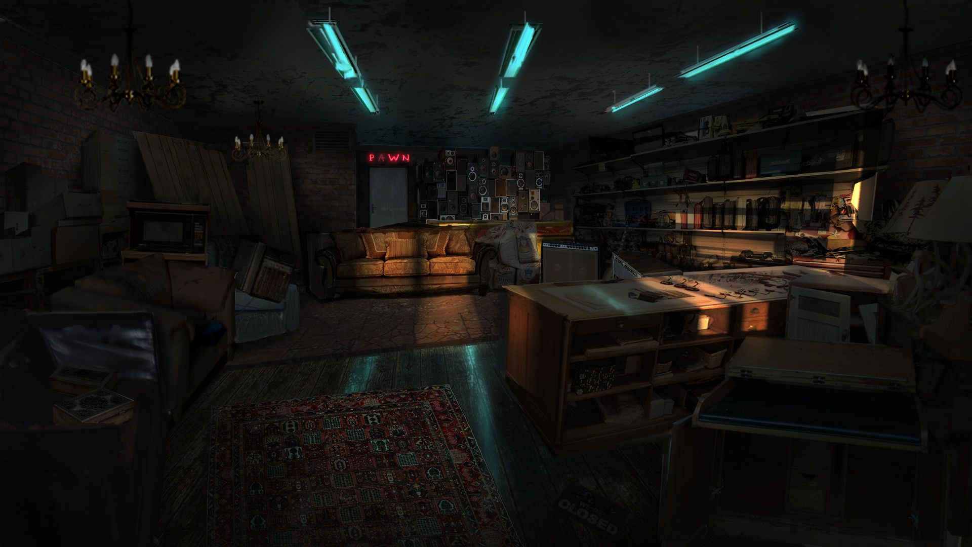 Jack eaves pawn sohop interior concept
