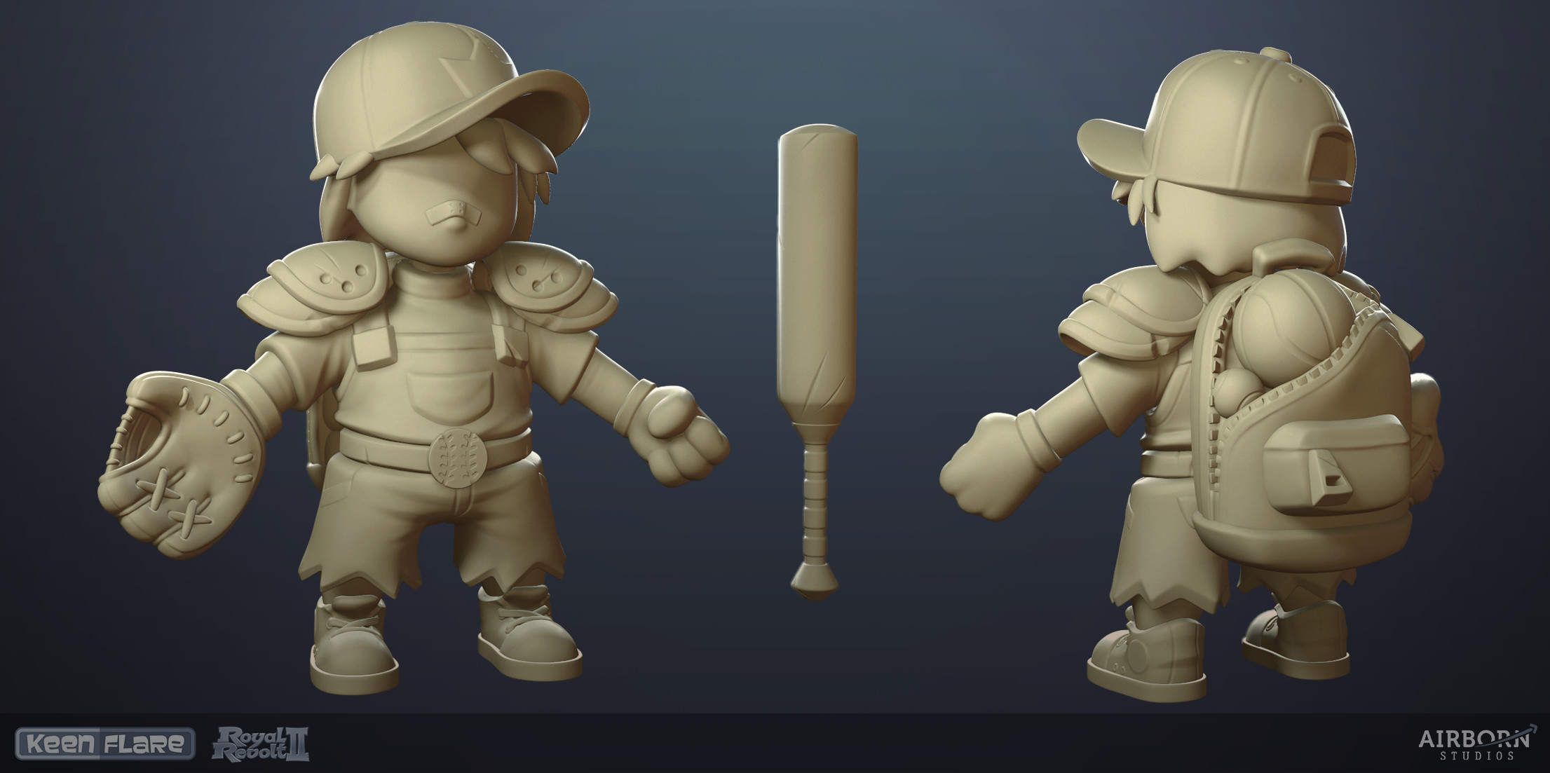 high-poly version