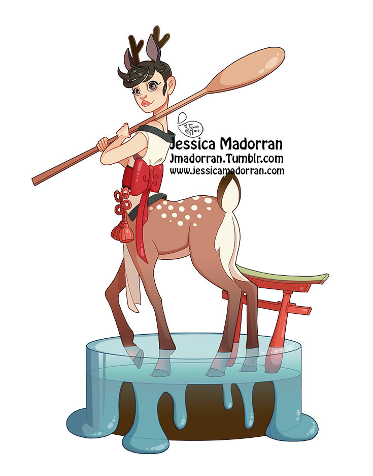 Jessica madorran japanese fashion 12 2017 artstation