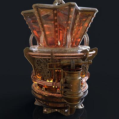 Tolga aksu steampunk lamp
