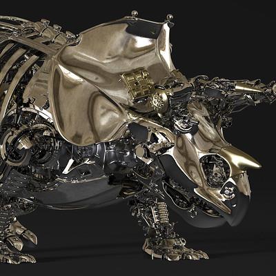 Ying te lien triceratops 03