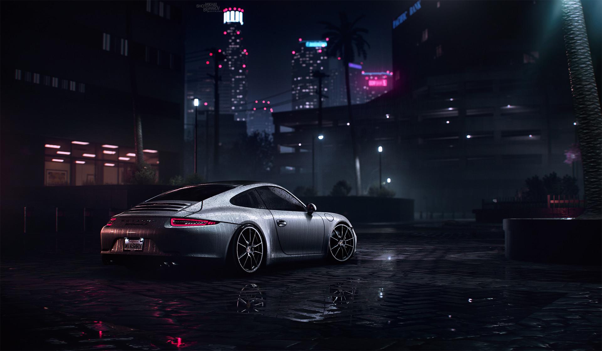Artstation Porsche 911 Carrera S Need For Speed 2016 Mikhail