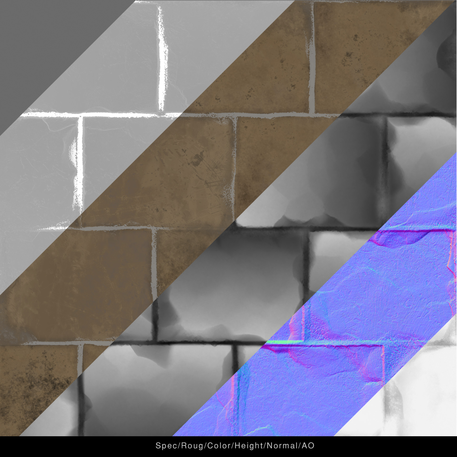 Jonas holmedal breakdown texture clean ancient brick