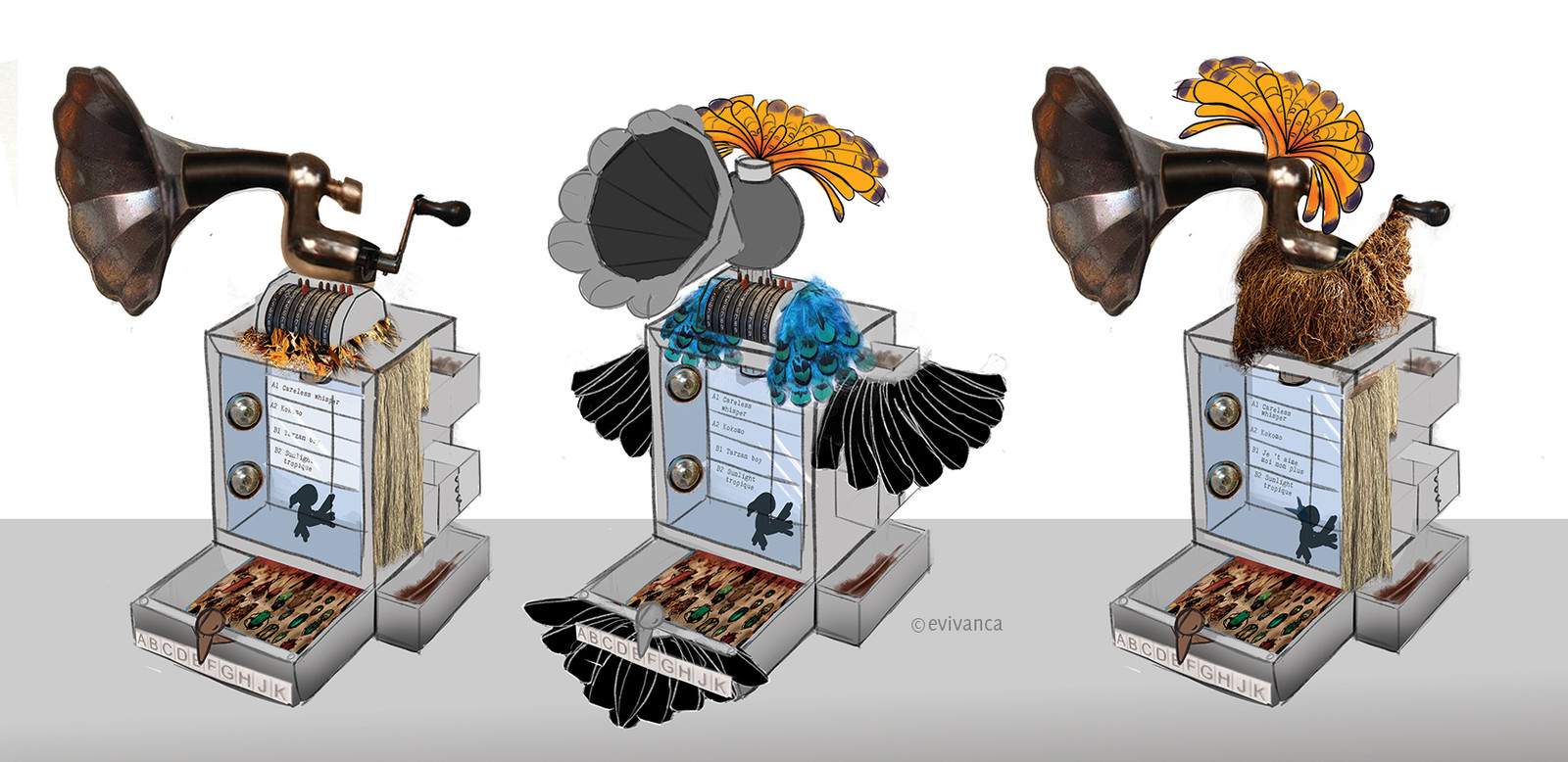 Birdiemachine - brainstorming