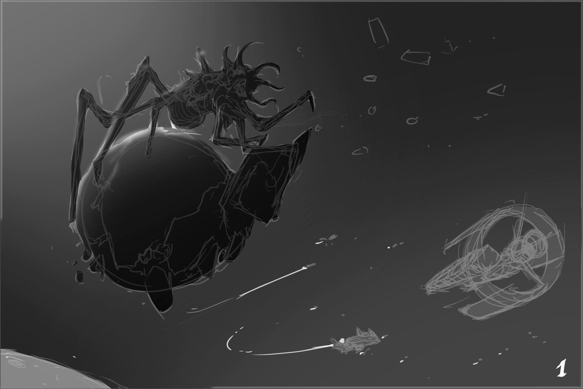 Kaithzer morejon matanga terror espacial 0000 capa 10