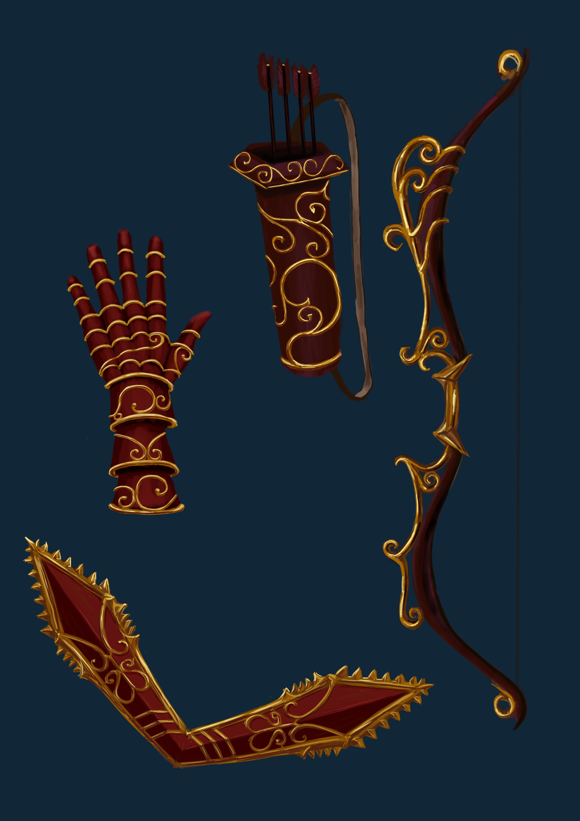 Gabriela shelkalina weapon design range weapons