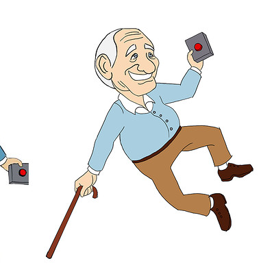 Gabriela shelkalina old man mascot