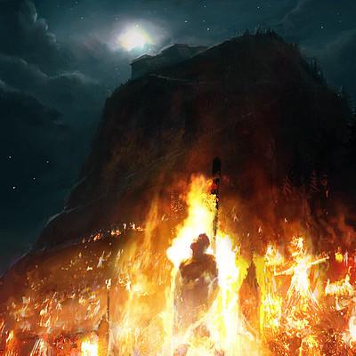 David demaret field of fire 1680