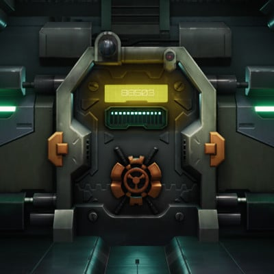 Doomfist's Cell Door - Overwatch Fan Art