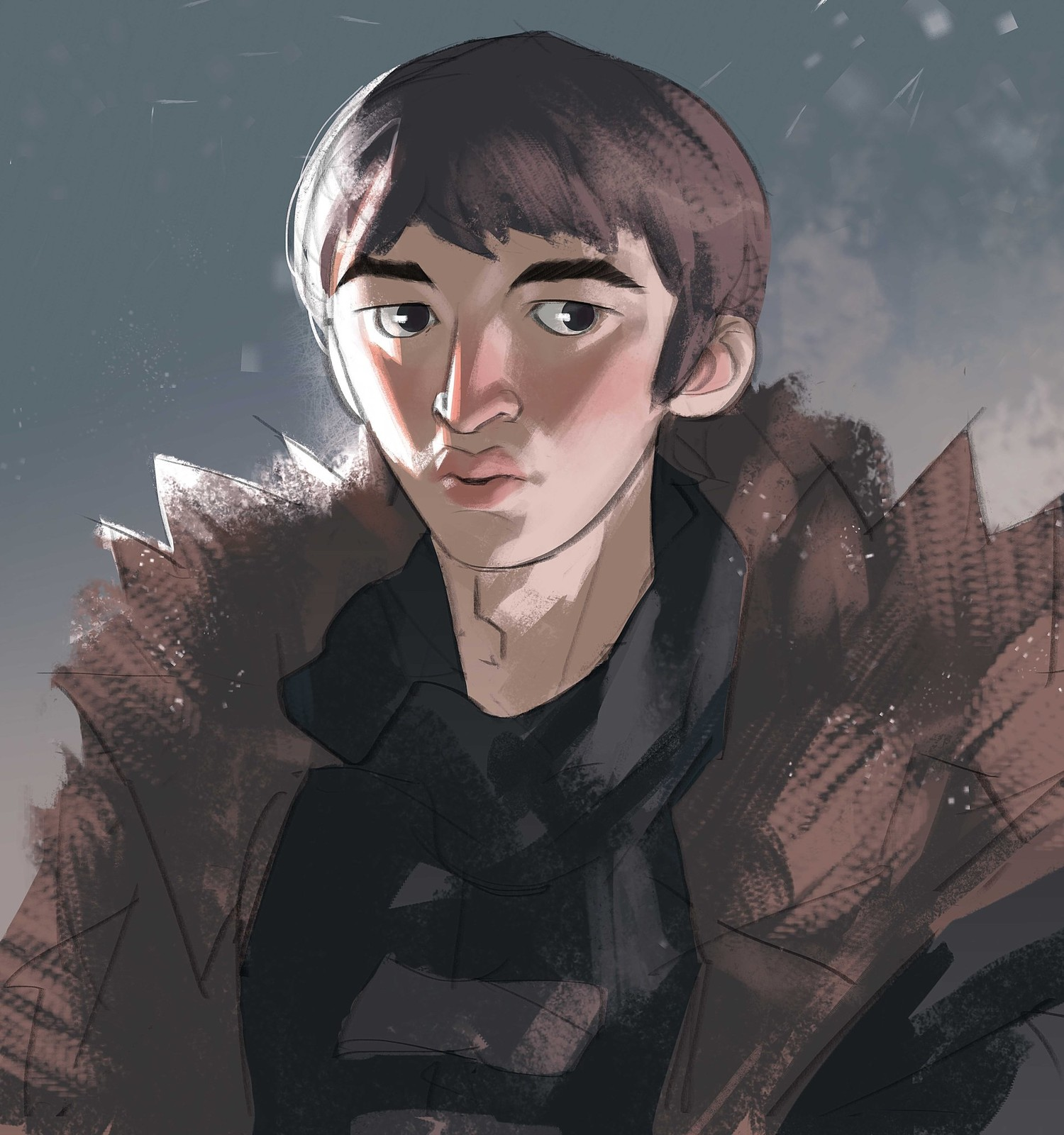 I'll finish this Game of Thrones series with Bran, the only character who knows everything but says nothing