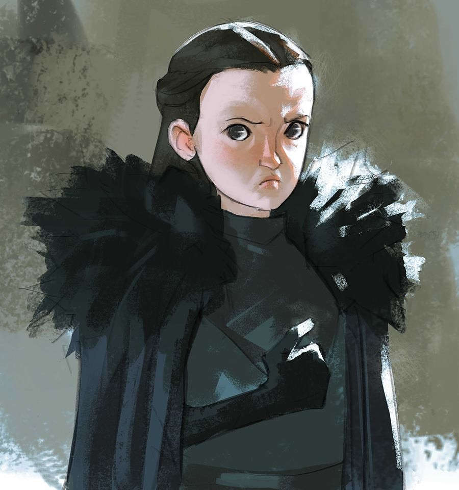 """""""The Wall was built to protect the White Walkers from Lyanna Mormont."""""""