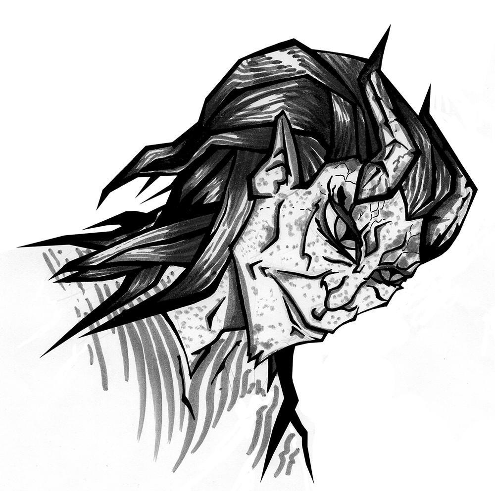 The horned Sorcerer