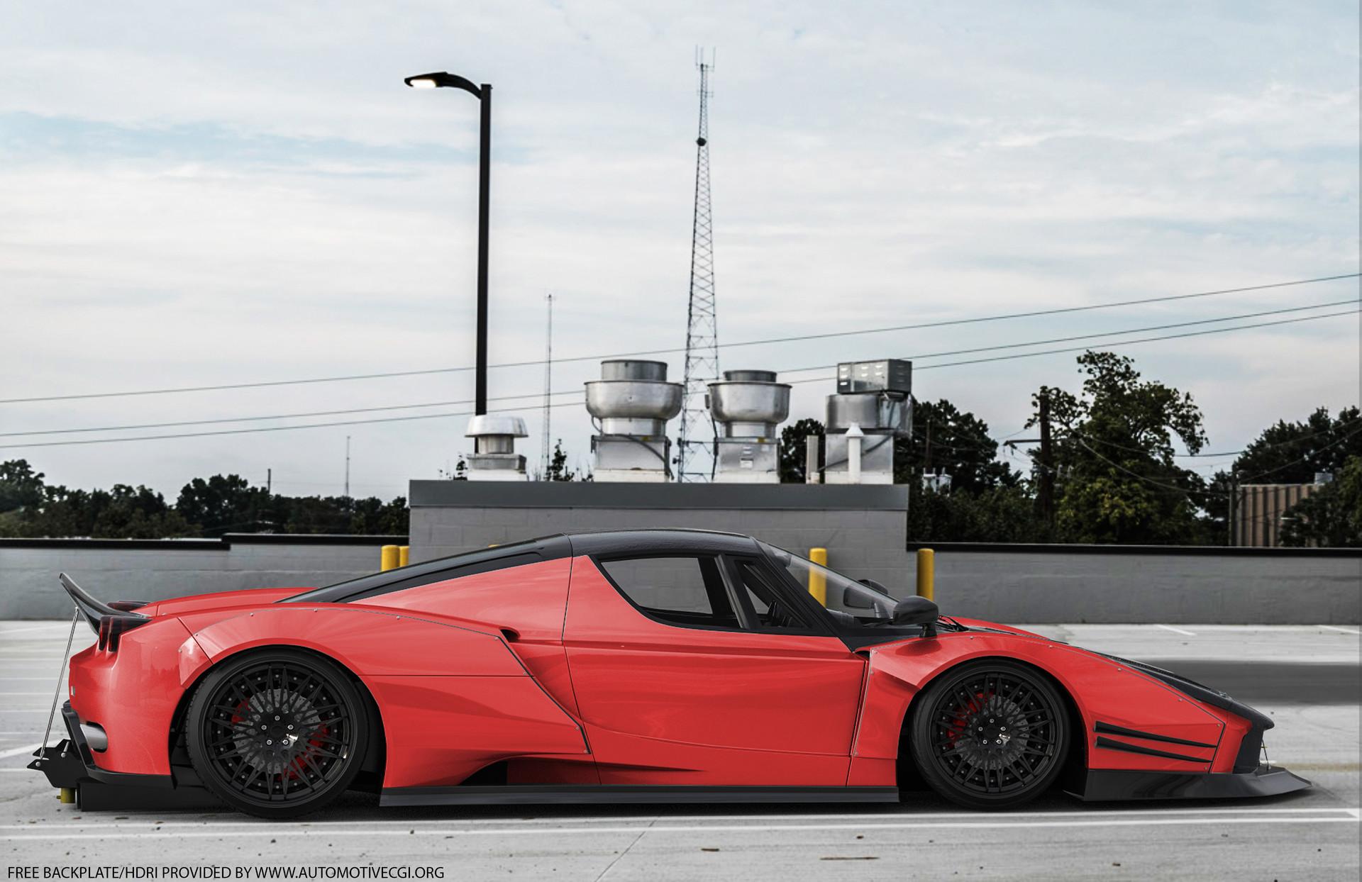 Body Kit Car >> Widebody Workshop - Ferrari Enzo Widebody Kit