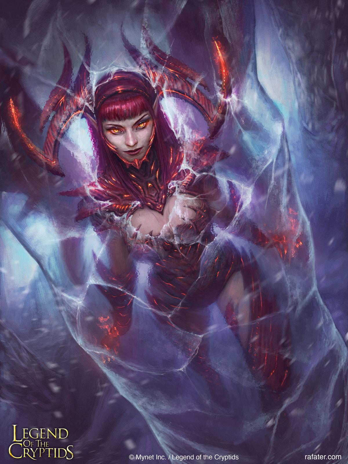 Legend of the Cryptids - Frozen Hellion Jagana - regular