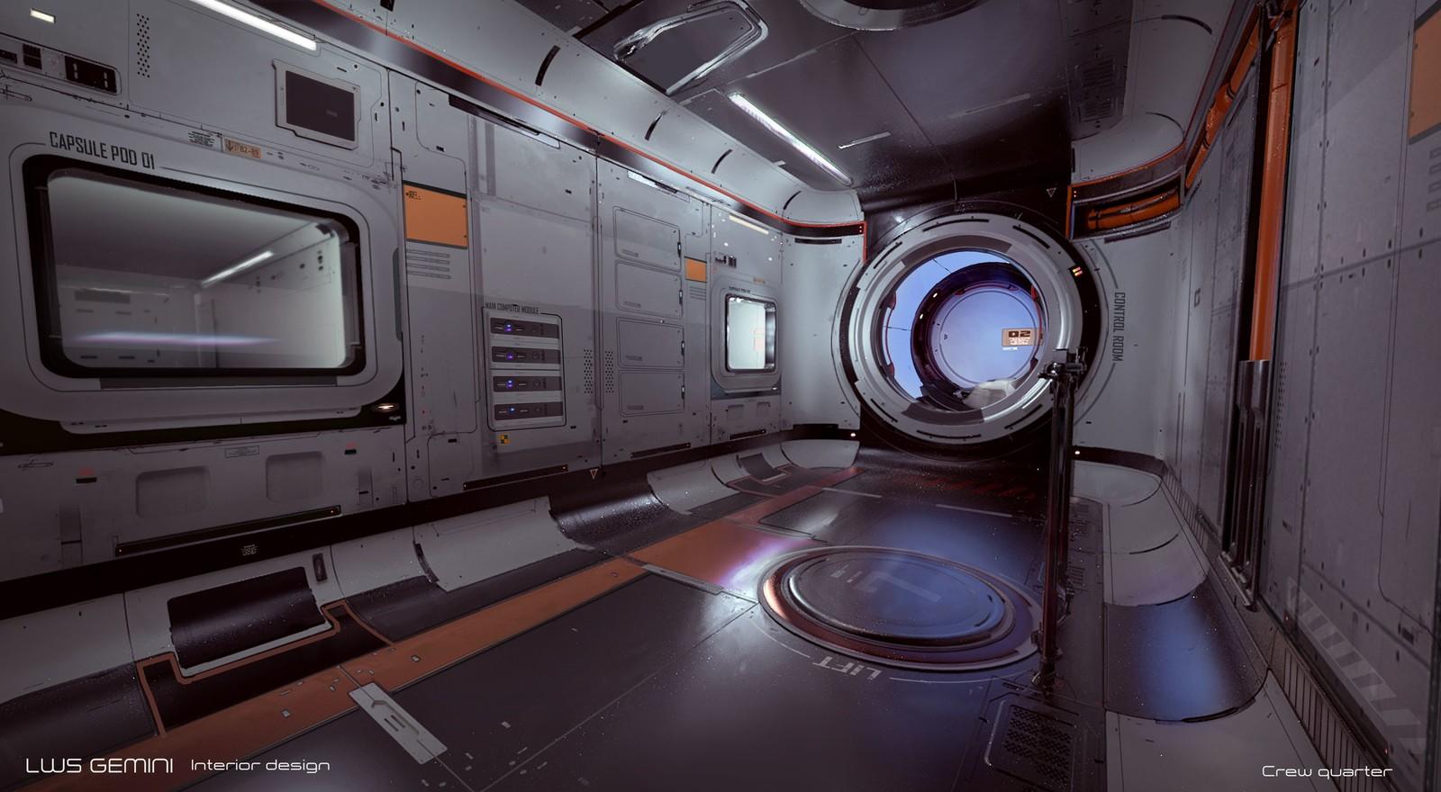 LWS Gemini interior design