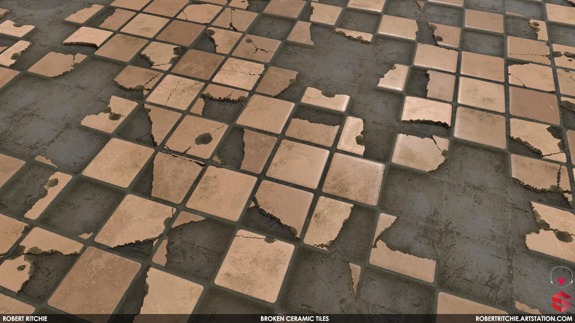 Artstation broken ceramic tiles material substance designer scroll to see more dailygadgetfo Choice Image