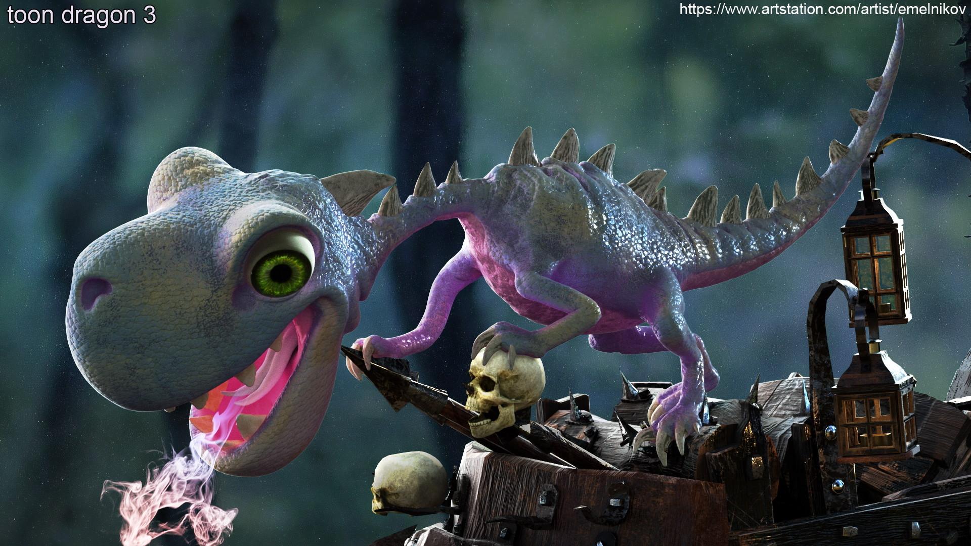 Eugene melnikov toon dragon 3 1 c