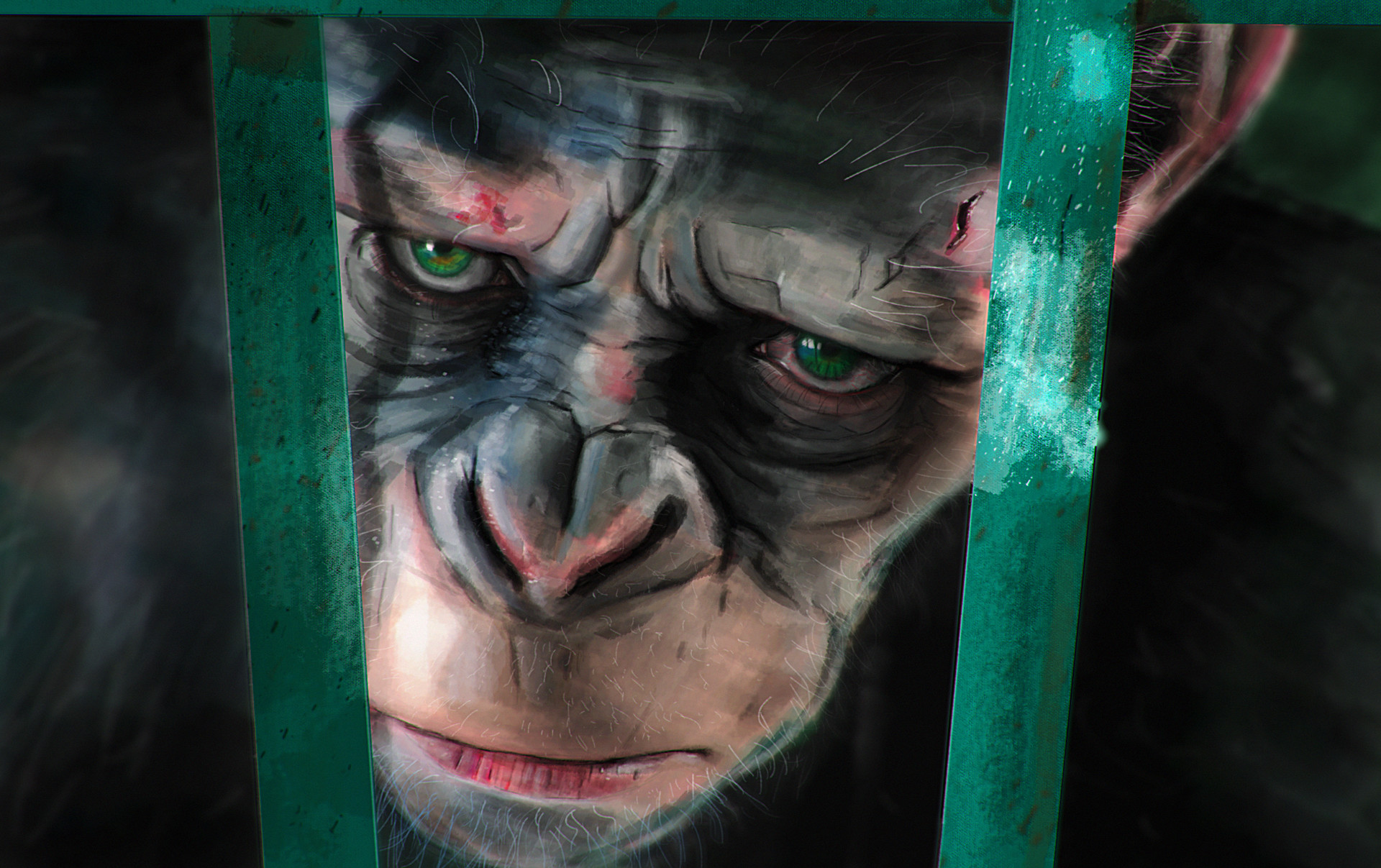 Martin jario war for the planet of the apes martinjario