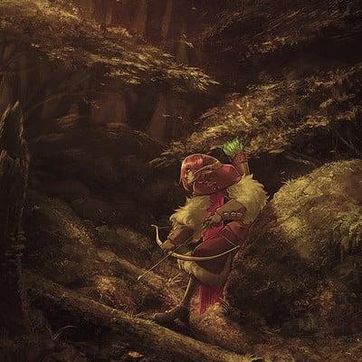 Hunter bonyun theforest