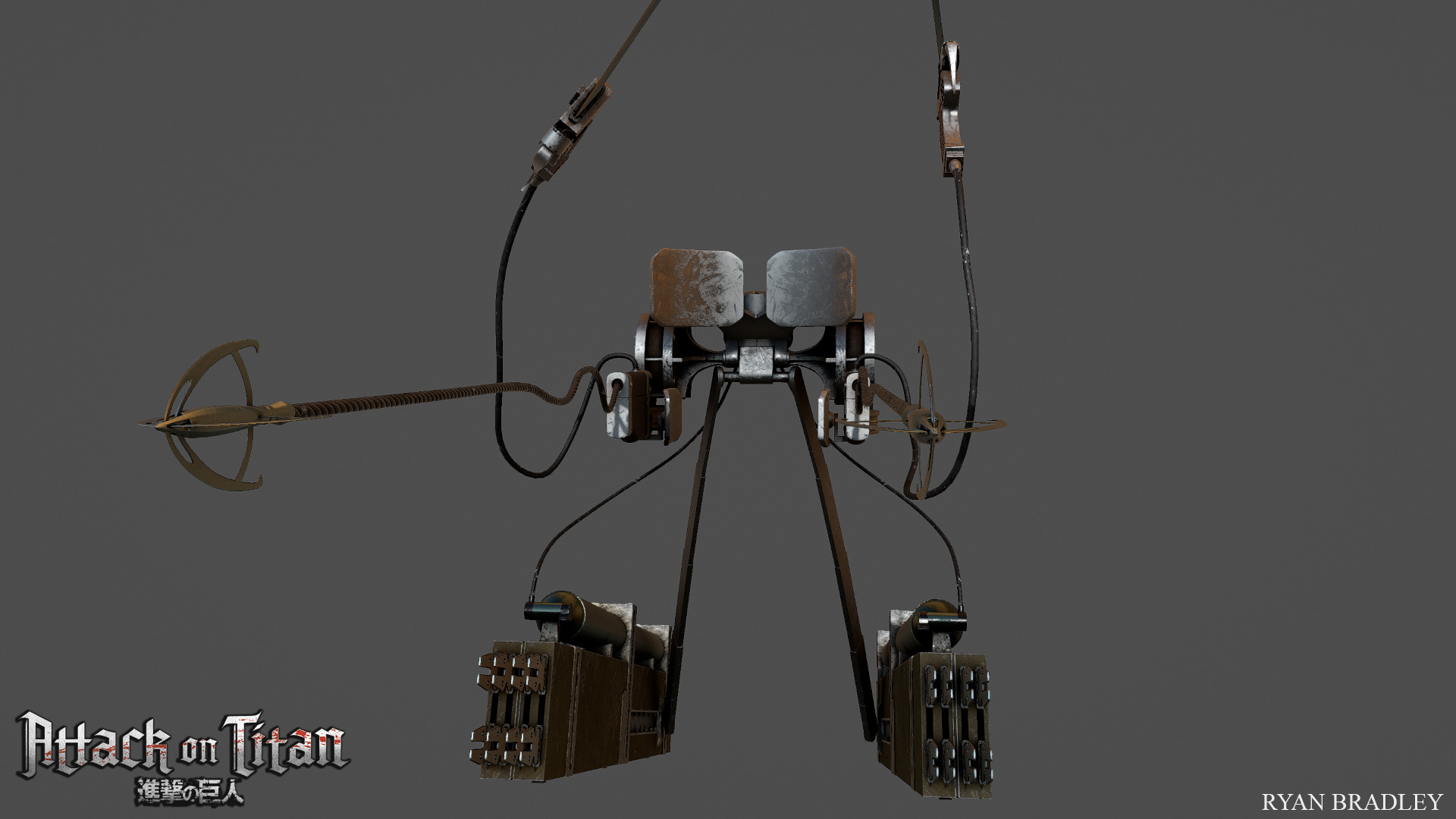 Images Of Real Attack On Titan Gear