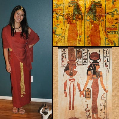 Meris mullaley egyptiancostume