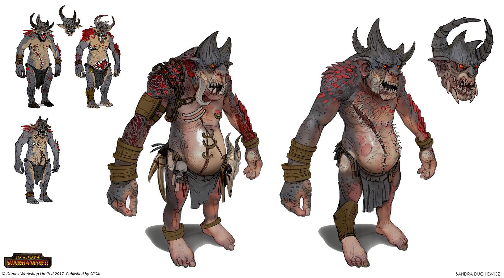 Chaos Trolls (final designs)