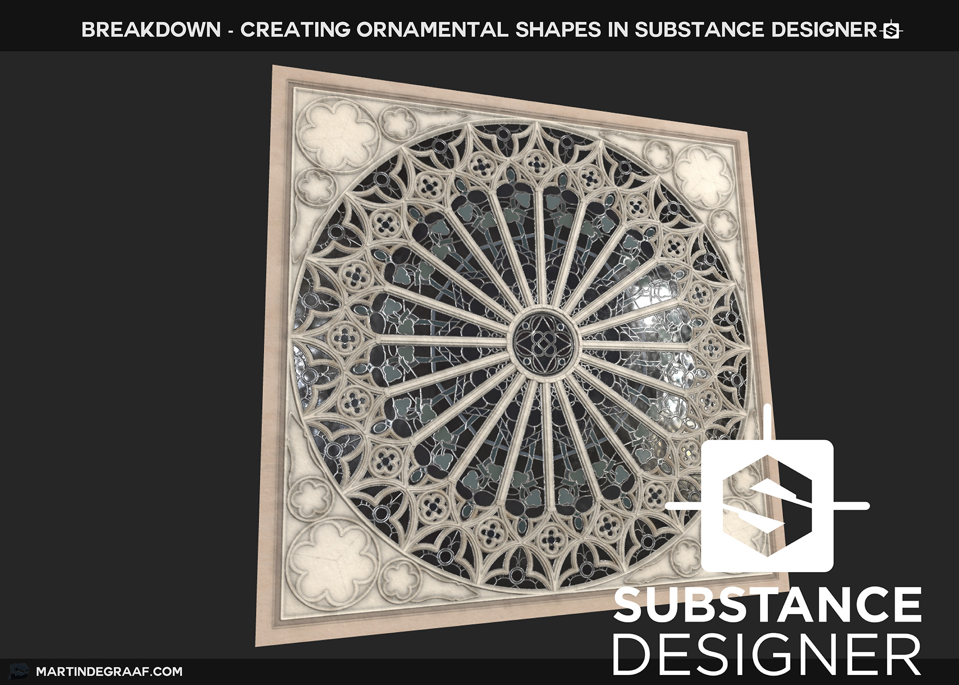 Martin de graaf martin de graaf creating ornamental shapes in substance designer frontpage