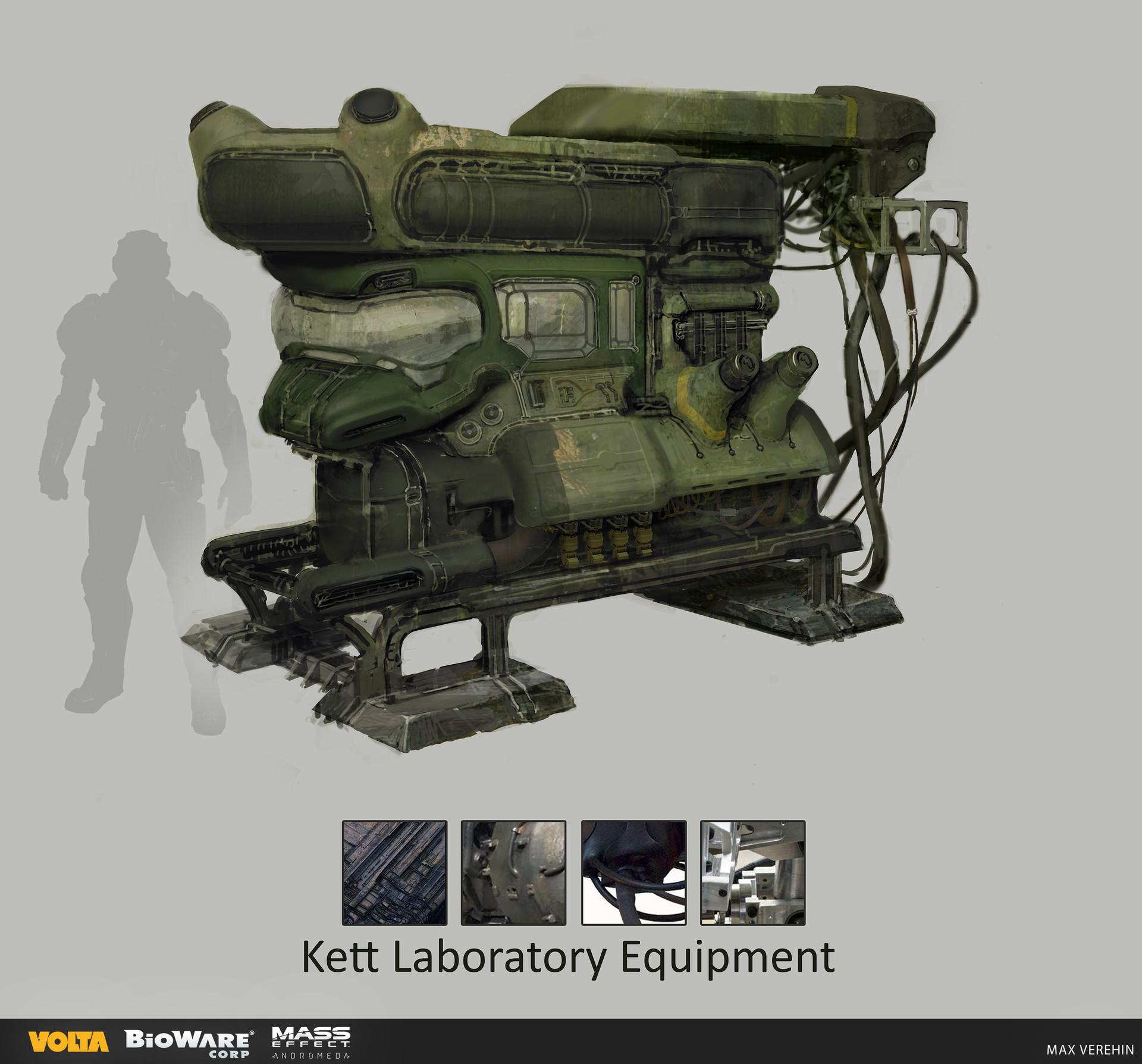 Maxim verehin kett laboratory equipment