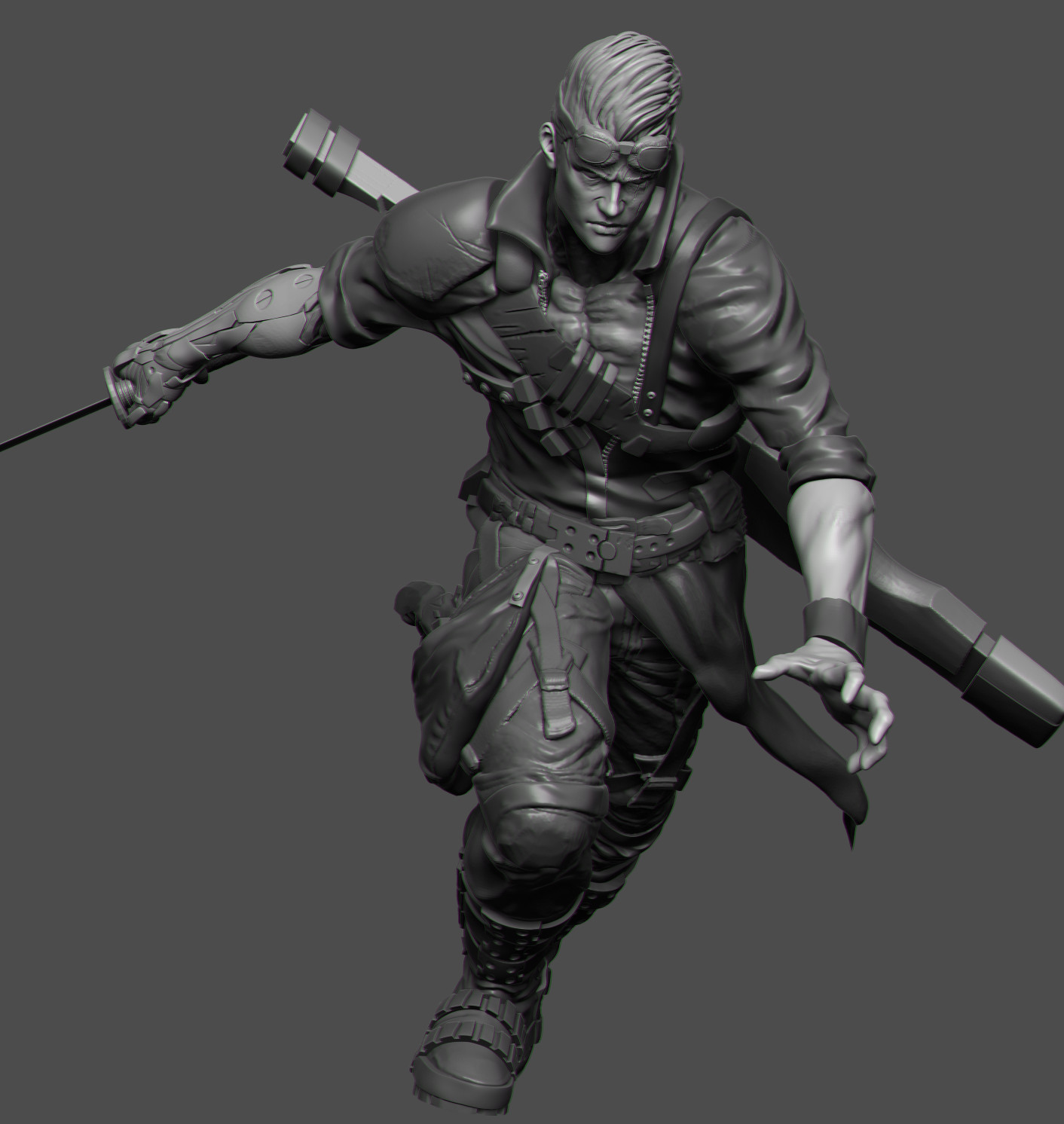 The Man : WIP
